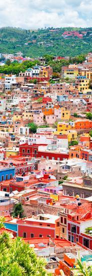 ¡Viva Mexico! Panoramic Collection - Guanajuato Colorful Cityscape XIII-Philippe Hugonnard-Photographic Print