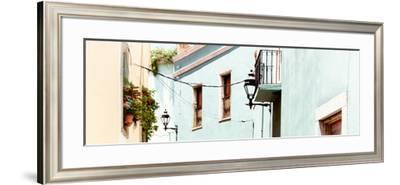 ¡Viva Mexico! Panoramic Collection - Guanajuato Facades II-Philippe Hugonnard-Framed Photographic Print