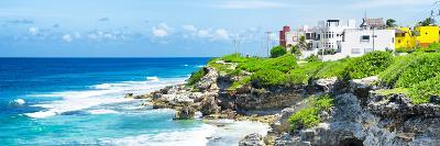 ¡Viva Mexico! Panoramic Collection - Isla Mujeres Coastline VI-Philippe Hugonnard-Photographic Print