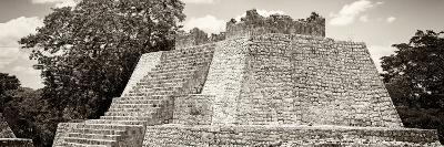 ¡Viva Mexico! Panoramic Collection - Maya Archaeological Site - Campeche I-Philippe Hugonnard-Photographic Print
