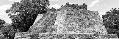 ¡Viva Mexico! Panoramic Collection - Maya Archaeological Site - Campeche II-Philippe Hugonnard-Photographic Print