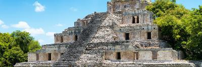 ¡Viva Mexico! Panoramic Collection - Maya Archaeological Site - Campeche III-Philippe Hugonnard-Photographic Print