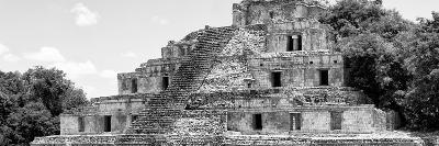 ¡Viva Mexico! Panoramic Collection - Maya Archaeological Site - Campeche V-Philippe Hugonnard-Photographic Print