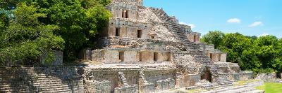 ¡Viva Mexico! Panoramic Collection - Maya Archaeological Site - Campeche VI-Philippe Hugonnard-Photographic Print
