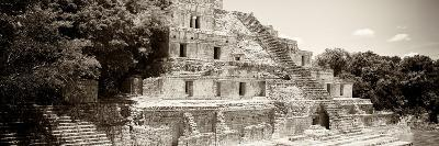 ¡Viva Mexico! Panoramic Collection - Maya Archaeological Site - Campeche VII-Philippe Hugonnard-Photographic Print