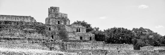 ¡Viva Mexico! Panoramic Collection - Maya Archaeological Site - Edzna V-Philippe Hugonnard-Photographic Print