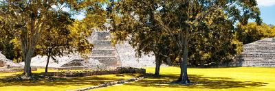 ¡Viva Mexico! Panoramic Collection - Maya Archaeological Site - Edzna XI-Philippe Hugonnard-Photographic Print