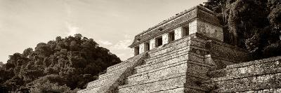 ¡Viva Mexico! Panoramic Collection - Mayan Temple of Inscriptions - Palenque I-Philippe Hugonnard-Photographic Print