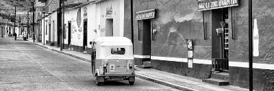 ¡Viva Mexico! Panoramic Collection - Mexican Street Scene with Tuk Tuk II-Philippe Hugonnard-Photographic Print
