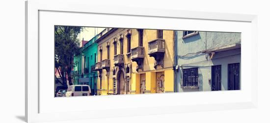 ¡Viva Mexico! Panoramic Collection - Mexico City Architecture-Philippe Hugonnard-Framed Photographic Print
