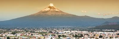 ¡Viva Mexico! Panoramic Collection - Popocatepetl Volcano in Puebla II-Philippe Hugonnard-Photographic Print