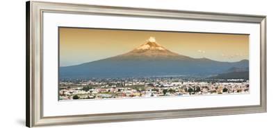 ¡Viva Mexico! Panoramic Collection - Popocatepetl Volcano in Puebla II-Philippe Hugonnard-Framed Photographic Print
