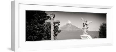 ¡Viva Mexico! Panoramic Collection - Popocatepetl Volcano in Puebla VII-Philippe Hugonnard-Framed Photographic Print