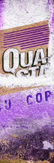 ¡Viva Mexico! Panoramic Collection - Purple Grunge Wall-Philippe Hugonnard-Photographic Print