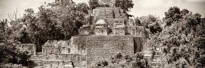 ?Viva Mexico! Panoramic Collection - Pyramid in Mayan City of Calakmul II-Philippe Hugonnard-Photographic Print