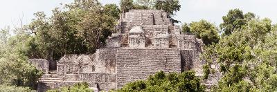 ?Viva Mexico! Panoramic Collection - Pyramid in Mayan City of Calakmul III-Philippe Hugonnard-Photographic Print