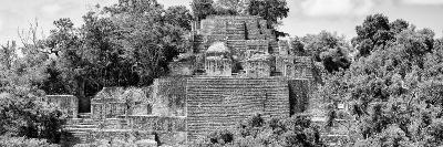 ?Viva Mexico! Panoramic Collection - Pyramid in Mayan City of Calakmul IV-Philippe Hugonnard-Photographic Print