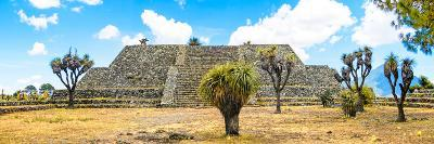 ¡Viva Mexico! Panoramic Collection - Pyramid of Cantona Archaeological Ruins VI-Philippe Hugonnard-Photographic Print