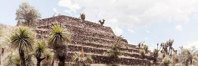 ¡Viva Mexico! Panoramic Collection - Pyramid of Cantona Archaeological Site VII-Philippe Hugonnard-Photographic Print