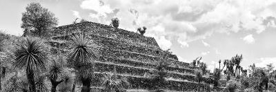 ¡Viva Mexico! Panoramic Collection - Pyramid of Cantona Archaeological Site VIII-Philippe Hugonnard-Photographic Print