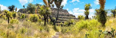 ¡Viva Mexico! Panoramic Collection - Pyramid of Cantona Archaeological Site-Philippe Hugonnard-Photographic Print