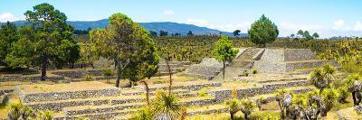 ¡Viva Mexico! Panoramic Collection - Pyramid of Cantona - Puebla I-Philippe Hugonnard-Photographic Print