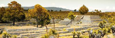 ¡Viva Mexico! Panoramic Collection - Pyramid of Cantona - Puebla II-Philippe Hugonnard-Photographic Print