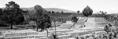 ¡Viva Mexico! Panoramic Collection - Pyramid of Cantona - Puebla III-Philippe Hugonnard-Photographic Print