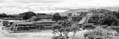 ¡Viva Mexico! Panoramic Collection - Pyramid of Monte Alban IV-Philippe Hugonnard-Photographic Print