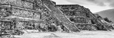¡Viva Mexico! Panoramic Collection - Teotihuacan Pyramids II-Philippe Hugonnard-Photographic Print