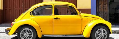 ¡Viva Mexico! Panoramic Collection - The Yellow Beetle Car-Philippe Hugonnard-Photographic Print