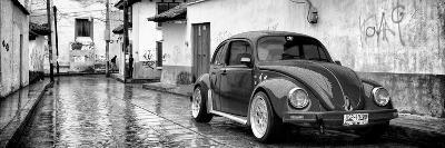 ?Viva Mexico! Panoramic Collection - VW Beetle Car in San Cristobal de Las Casas-Philippe Hugonnard-Photographic Print