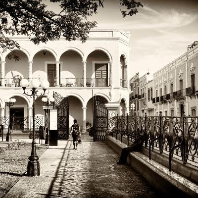 ¡Viva Mexico! Square Collection - Architecture Campeche II-Philippe Hugonnard-Photographic Print