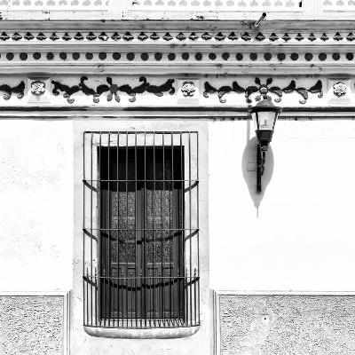 ¡Viva Mexico! Square Collection - B&W Facade-Philippe Hugonnard-Photographic Print