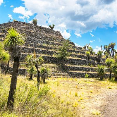 ¡Viva Mexico! Square Collection - Cantona Archaeological Ruins VI-Philippe Hugonnard-Photographic Print