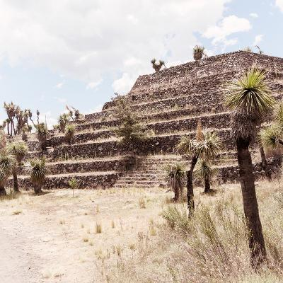 ¡Viva Mexico! Square Collection - Cantona Archaeological Ruins VII-Philippe Hugonnard-Photographic Print