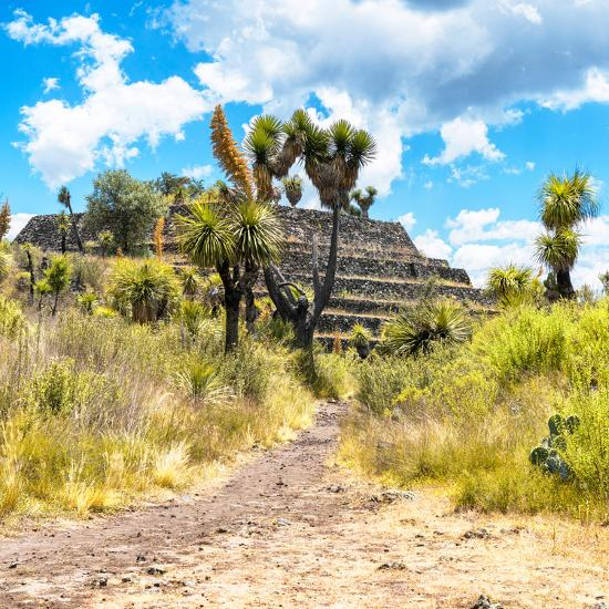 ¡Viva Mexico! Square Collection - Cantona Archaeological Ruins-Philippe Hugonnard-Photographic Print