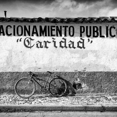 "?Viva Mexico! Square Collection - ""Caridad"" Bike-Philippe Hugonnard-Photographic Print"
