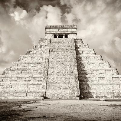 ¡Viva Mexico! Square Collection - Chichen Itza Pyramid VI-Philippe Hugonnard-Photographic Print