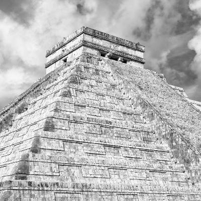 ¡Viva Mexico! Square Collection - Chichen Itza Pyramid XI-Philippe Hugonnard-Photographic Print