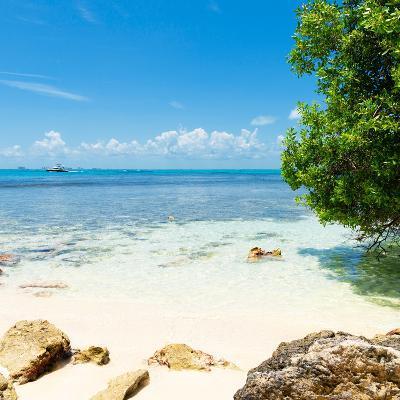 ¡Viva Mexico! Square Collection - Coastline Paradise in Isla Mujeres-Philippe Hugonnard-Photographic Print