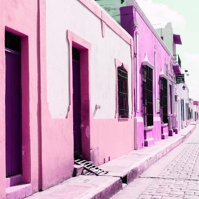 ¡Viva Mexico! Square Collection - Coloful Street II-Philippe Hugonnard-Photographic Print