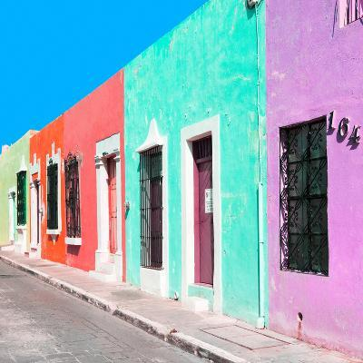 ¡Viva Mexico! Square Collection - Coloful Street VII-Philippe Hugonnard-Photographic Print
