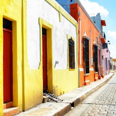 ¡Viva Mexico! Square Collection - Coloful Street-Philippe Hugonnard-Photographic Print