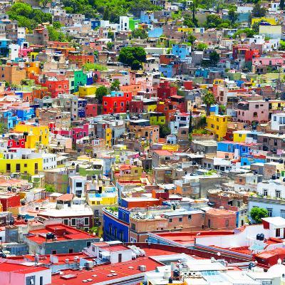 ¡Viva Mexico! Square Collection - Colorful Guanajuato IX-Philippe Hugonnard-Photographic Print