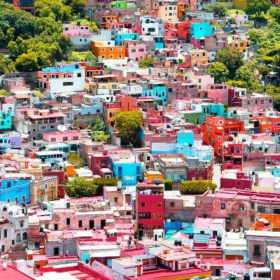 ¡Viva Mexico! Square Collection - Colorful Guanajuato VII-Philippe Hugonnard-Photographic Print