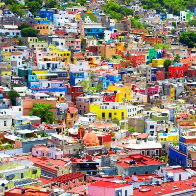 ¡Viva Mexico! Square Collection - Colorful Guanajuato VIII-Philippe Hugonnard-Photographic Print