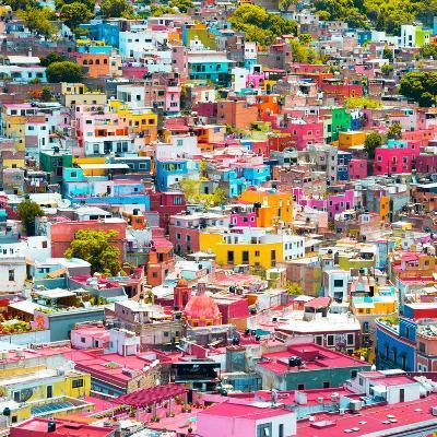 ¡Viva Mexico! Square Collection - Colorful Guanajuato X-Philippe Hugonnard-Photographic Print
