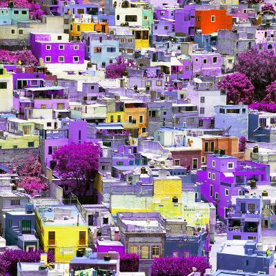 ¡Viva Mexico! Square Collection - Colorful Guanajuato XVI-Philippe Hugonnard-Photographic Print