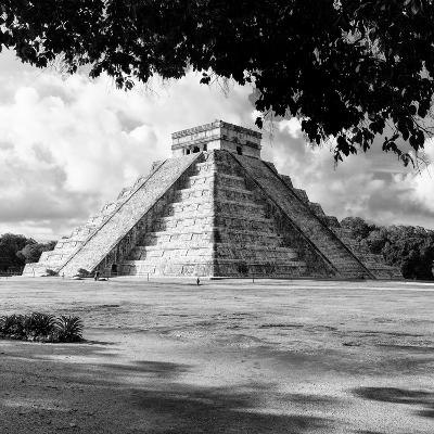 ¡Viva Mexico! Square Collection - El Castillo Pyramid - Chichen Itza I-Philippe Hugonnard-Photographic Print